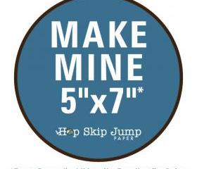 Make Mine 5x7 - Love..