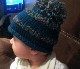 Knit Roll Brim Baby ..