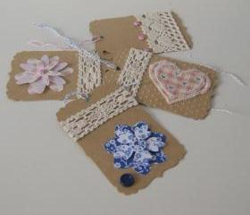 Set of 4 gift tags