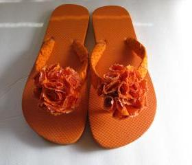 Orange Decorated Fli..
