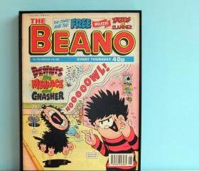 Comic Book Art Beano..