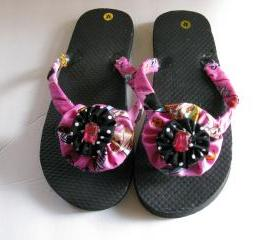 Decorated Flip Flops..