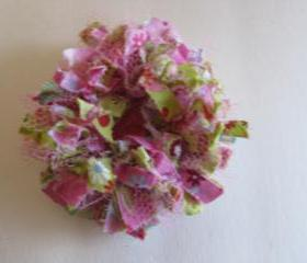 Pink Green Frilly Fl..