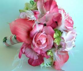 Pink Bridal Bouquet ..