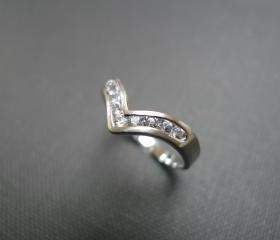 Wedding Ring with Wh..