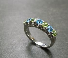 Blue Topaz and Perid..