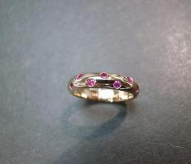 Ruby Ring in 14K Ros..
