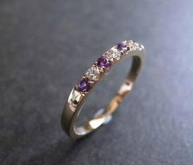 Amethyst and White S..