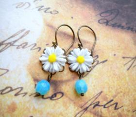 Flower Earrings - Tu..