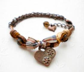 Burberry Brown Heart..