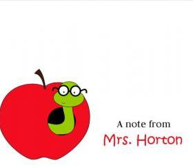 Teacher Note Cards
