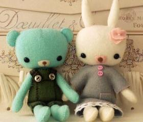Pocket Teddy and Bun..