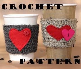 Coffee Cozy Crochet ..
