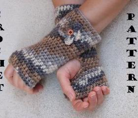 Fingerless gloves wi..