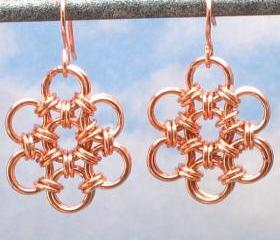 Copper Earrings, Jap..