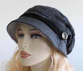 Hat Knitted Slouchy ..