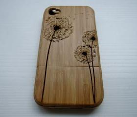 Iphone 4 case - wood..