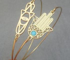 Hamsa Hands Bangle 2..