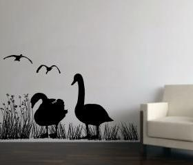 Wall Decal Geese in ..