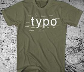 Typography Shirt Hel..