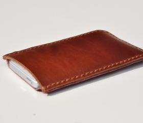 Leather iPhone5 case..