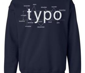 Typography Crew Neck..