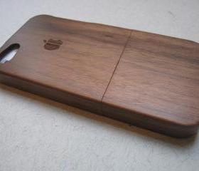 Iphone 5 case - wood..
