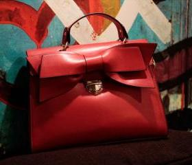 Bow ladies handbag n..