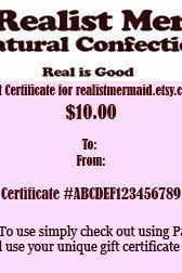 Any Value Gift Certificate Digital Image