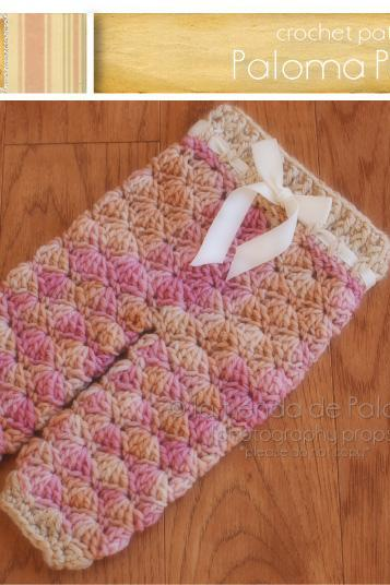 Crochet Baby Pants Pattern - Crochet Shelly Pants - Crochet Pants - Crochet Pattern