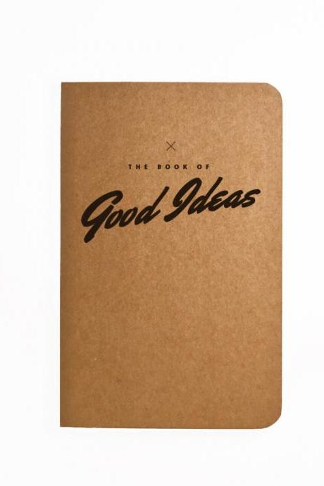 The book of Good Ideas - Handmade Notebook