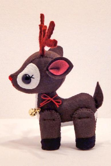 Reindeer - Pdf Pattern Download