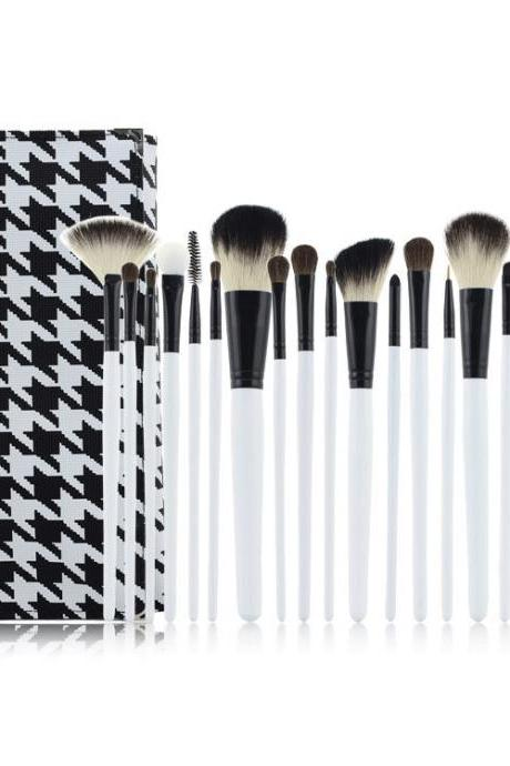 New Brand 20pcsBeauty Makeup Brush Kit Tools Goat Hair Makeup Brushes Cosmetic Makeup Brush Set