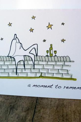 Romantic moment card (Anonymity range)