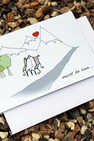 Must be love card (Anonymity range)