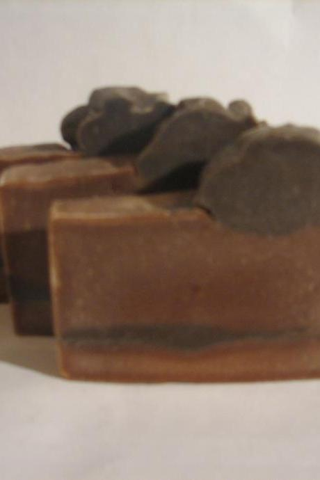 Roasted Hazelnut Toffee Cold Process Soap Made in Vermont
