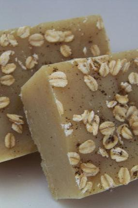 Warm Oats Cold Process Soap