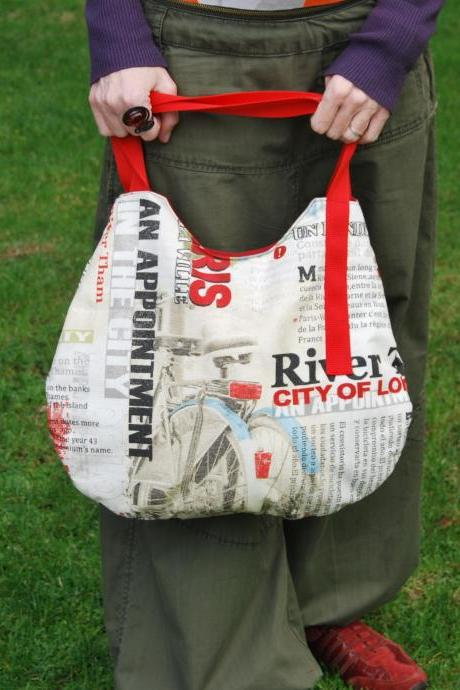 Tote Paris Bag with a lot of pockets to put everything by El rincón de la Pulga