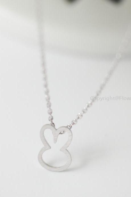 Cute Bunny NecklaceBunny Rabbit