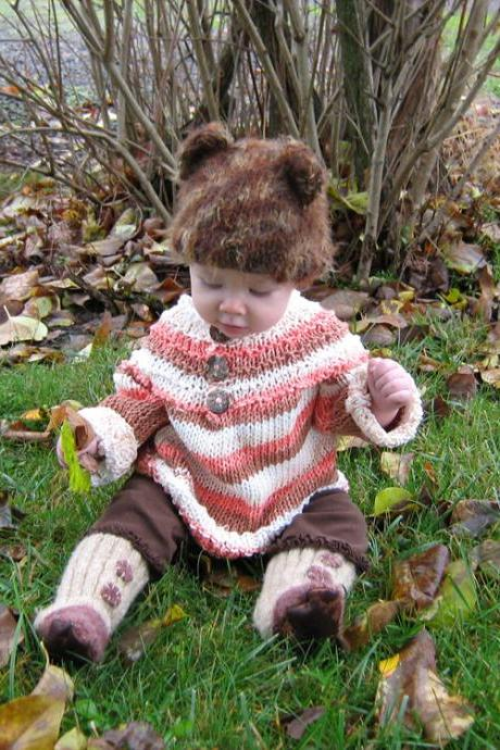 Custom order - Super comfy, slouch baby, 100% cotton, baby pull over sweater, made to order