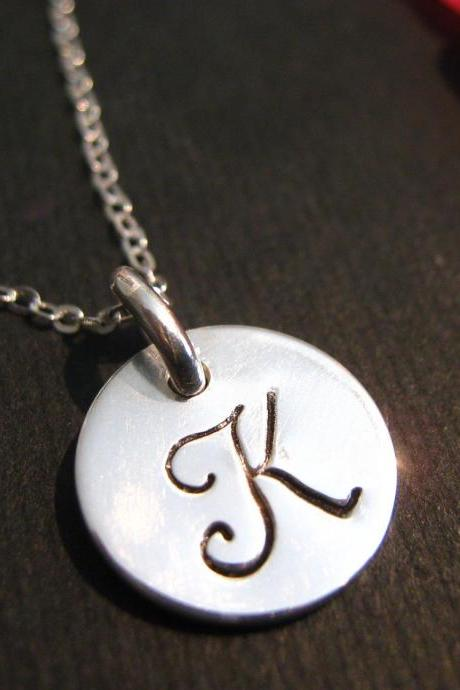 Personalized Initial Necklace, Necklace with Initials, Personalized Necklace, Personalized Jewelry, Engraved Necklace