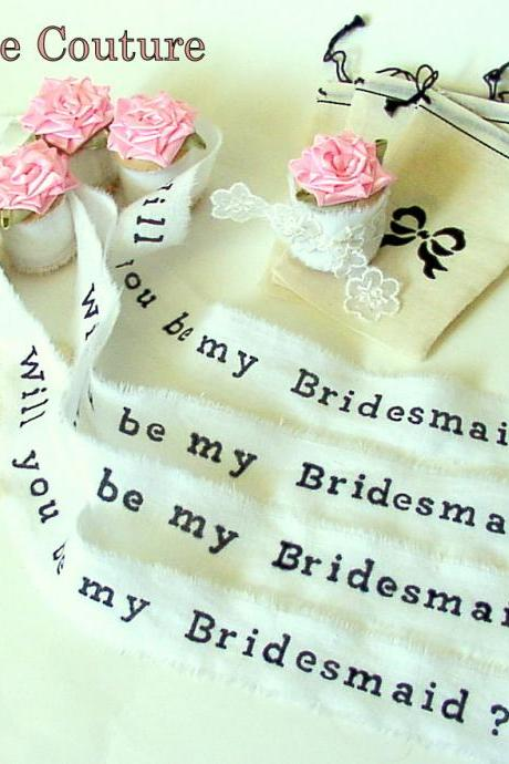 Will You Be My Bridesmaid - Will you be my Maid of Honor - Bridesmaid Invites