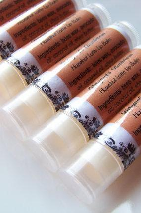 Hazelnut Latte Lip Balm