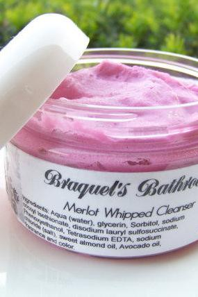 Merlot Whipped Body Cleanser (VEGAN)