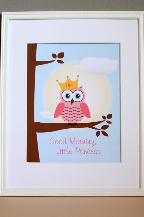 Good Morning Little Princess, 8x10
