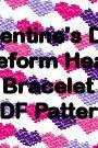 Valentine's Day Freeform Free Form Hearts Bracelet Pattern Digital File Brick Stitch Peyote Plus FREE BONUS PATTERN