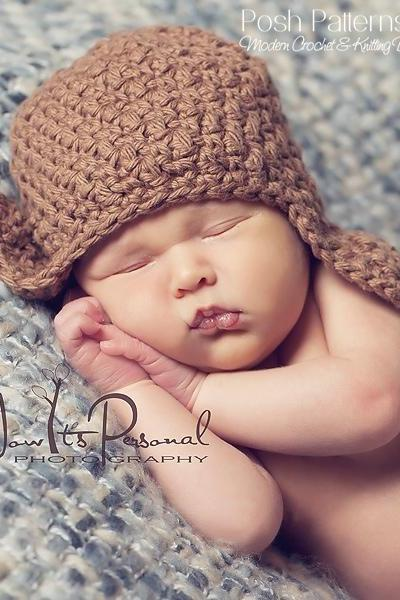 Crochet Hat Pattern Baby Textured Earflap Hat Crochet Pattern Newborn to Toddler Sizes PDF 181