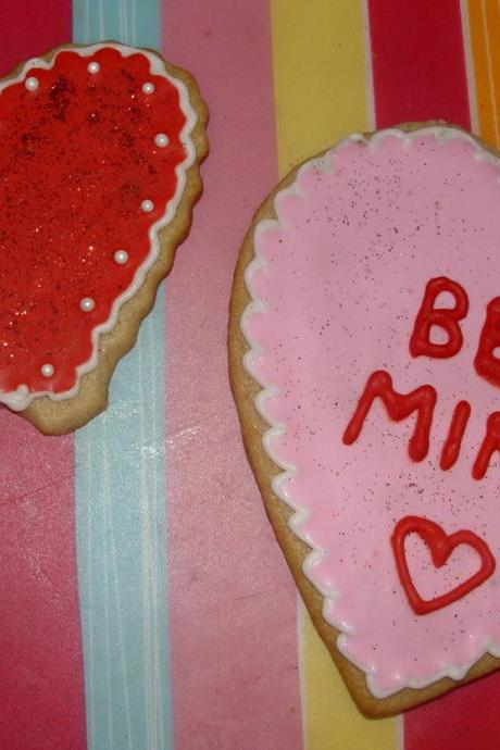 Valentine's Day Themed Cookies (large)