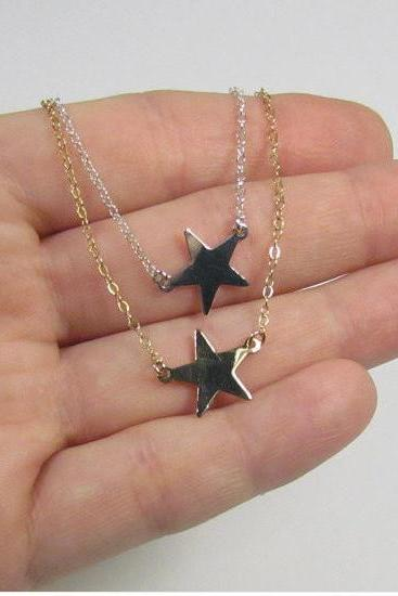 Star Station Necklace Celebrity Inspired