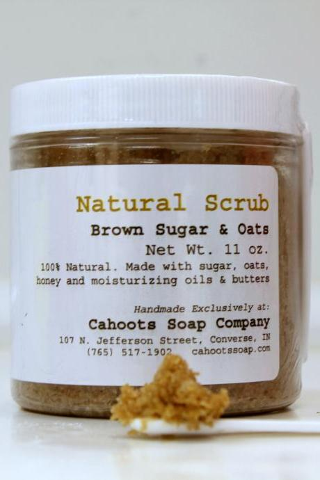 Natural Body & Face Scrub